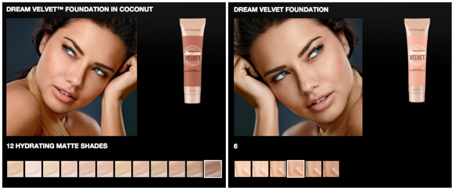 Maybelline Offering Only Lightest Shades of New Foundation to British Women