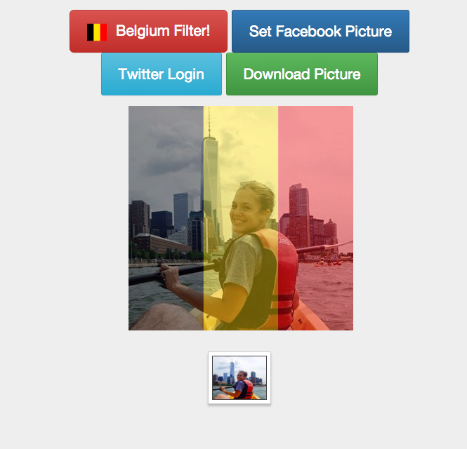 How to Change Your Facebook Photo to Belgian Flag Colors in Solidarity with Brussels