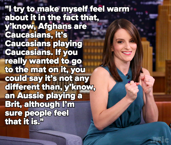 Tina Fey's 'Whiskey Tango Foxtrot' Cast 2 Non-Afghan Actors as Afghan Characters