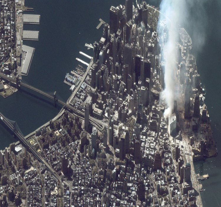 What 9/11 Looked Like to the Only American Who Wasn't on Earth to See it