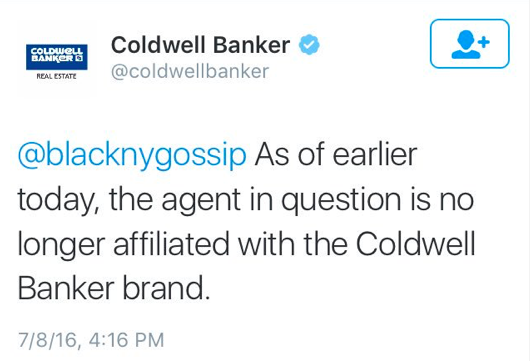 A Coldwell Banker Agent Got Fired for a Disgusting Post About Alton Sterling