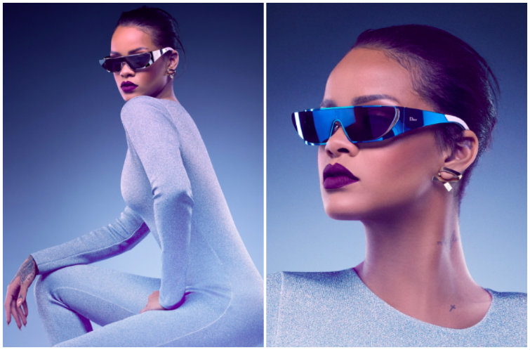 Rihanna's New Dior Shades Might Be the Craziest (But Also Coolest) Sunglasses Ever