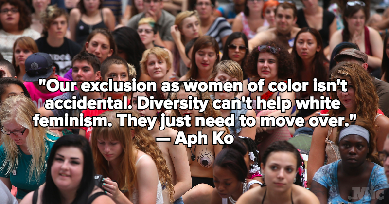 The Brutal Truth Every White Feminist Needs to Hear