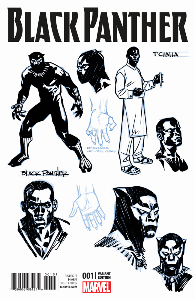 Photos of Black Panther, Ta-Nehisi Coates' Comic Book Revival, Released