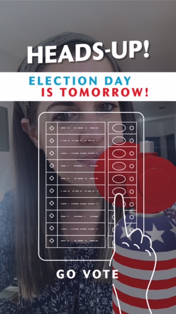 Snapchat update: Election Day-themed filters urge millennials to get out and vote