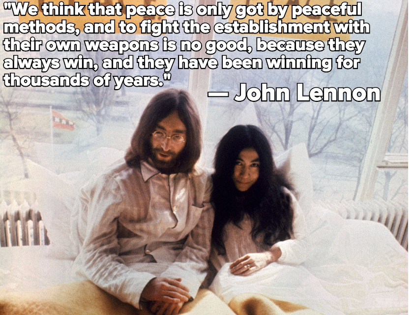 35 Years Ago, the World Lost John Lennon, One of Music's Greatest Political Threats