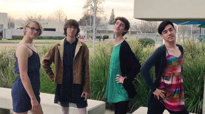 These Teen Boys Fought Their School's Sexist Dress Code in the Best Way