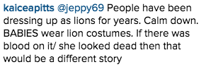 Ashley Benson in Cecil the Lion Costume on Instagram Causes Backlash