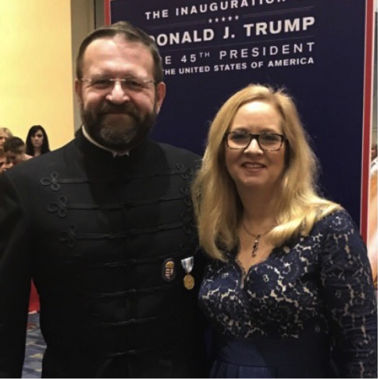 One of Trump's top White House aides wears the same medal associated with Nazi collaborators