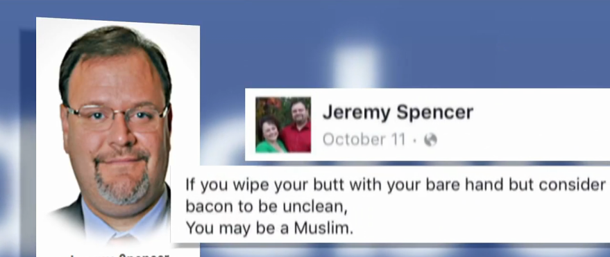 These Are the Racist Facebook Posts That Got Georgia Official Jeremy Spencer Fired