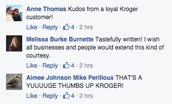 This Kroger's Grocery Store in Georgia Just Shut Down Unisex Bathroom Haters With a Sign