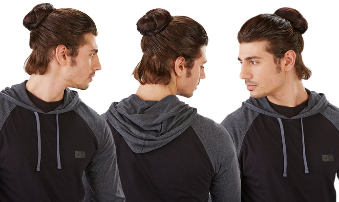 Let Us Introduce You to the Horror That Is the Clip-in Man Bun
