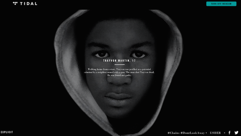 "Usher and Nas Make Powerful Statement on Minority Lives Lost in Tidal Exclusive ""Chains"""