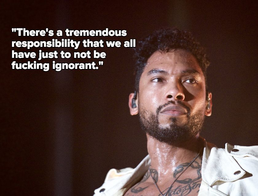 "Miguel Says Voting for Trump Is ""Fucking Ignorant,"" Wouldn't Perform With Him on 'SNL'"