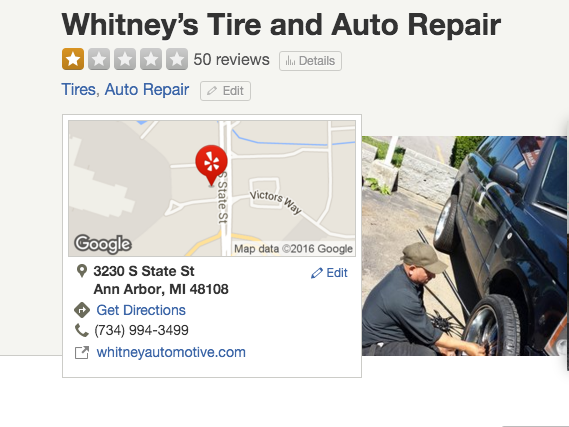 "This Michigan Tire Shop Owner Says He Doesn't Service Black or ""Ghetto"" People"