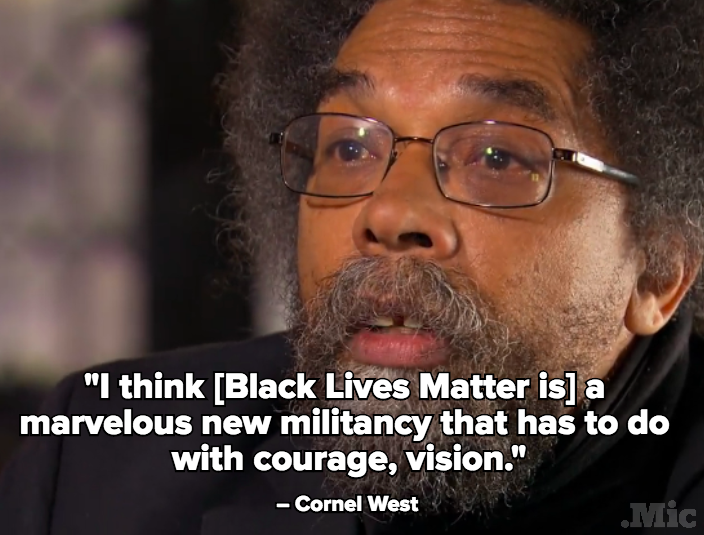 Cornel West Gave a Ringing Endorsement of Black Lives Matter on '60 Minutes'