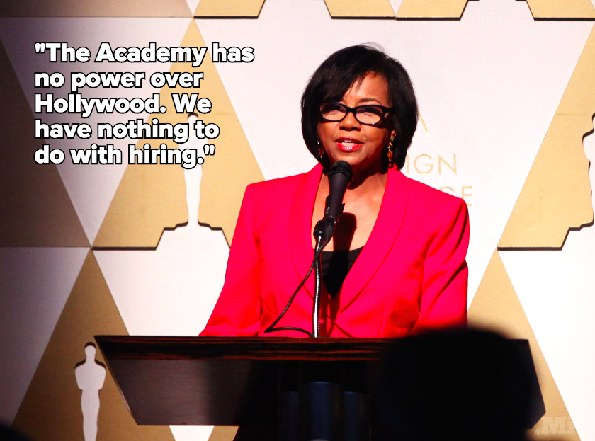 Academy President: Blame Hollywood for Why #OscarsSoWhite