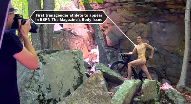 Chris Mosier Becomes First Transgender Athlete to Pose for ESPN's Body Issue