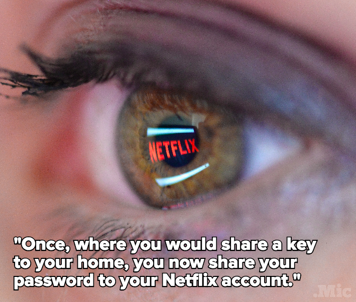 Sharing Your Netflix Password Is the True Symbol of Being In an Adult Relationship