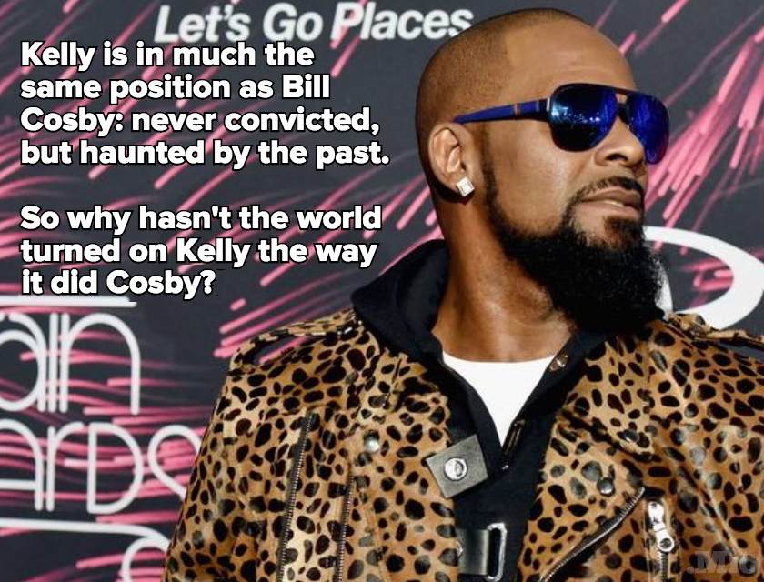 What Will It Take for the World to Turn Against R. Kelly Like It Did Bill Cosby?