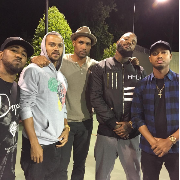 Jesse Williams, The Game And Other Celebrities Gather to Discuss Race Relations in America