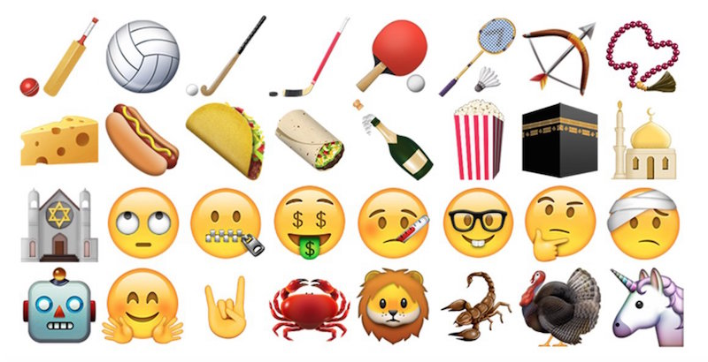 New Emojis! Here Are the Best Characters Coming to Your iPhone
