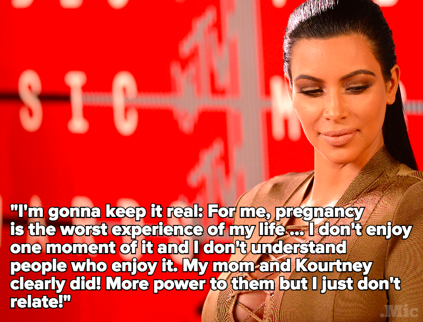 Kim Kardashian Just Got Super Real About How Much Being Pregnant Sucks