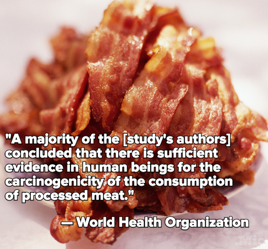 There Is Bad, Bad News for People Who Love Bacon