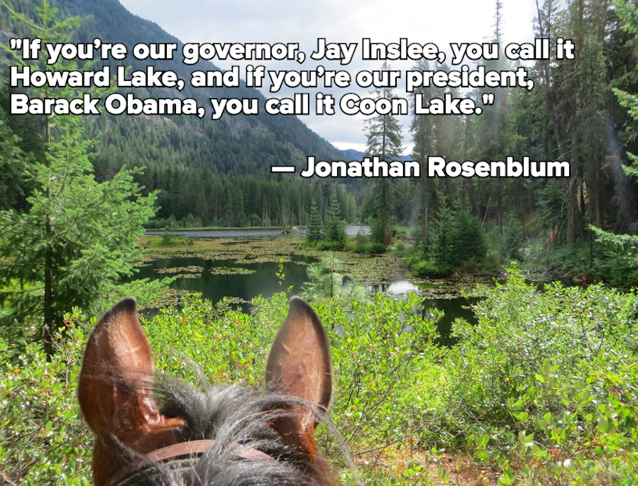 The Federal Government Is Refusing to Change the Name of Washington State's Coon Lake