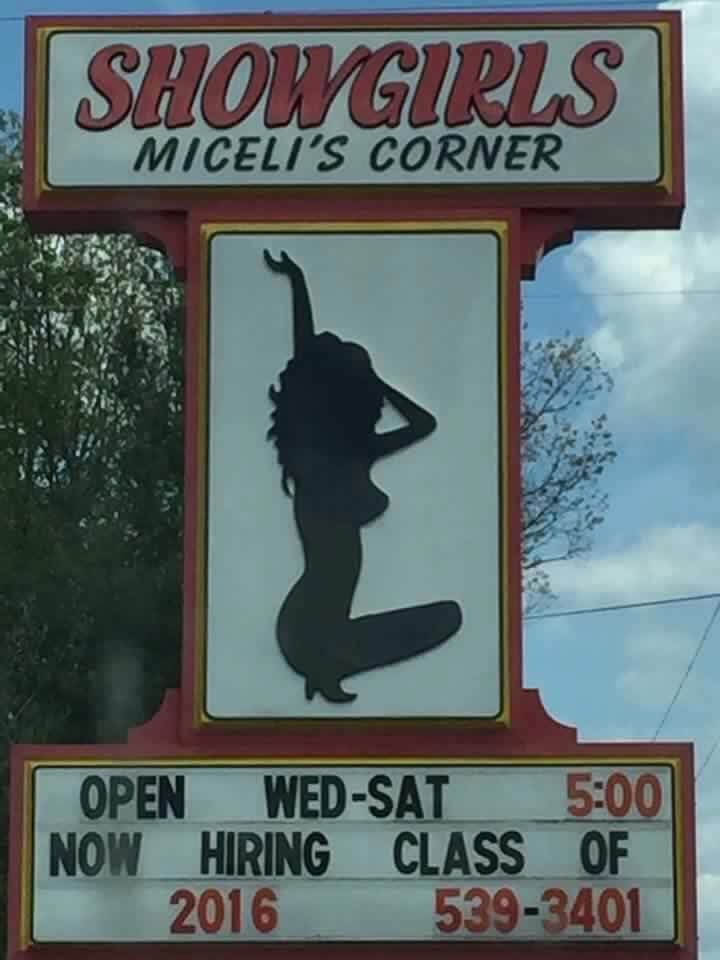 A Michigan Strip Club Made a Tasteless Joke on Its Sign and Locals Are Furious