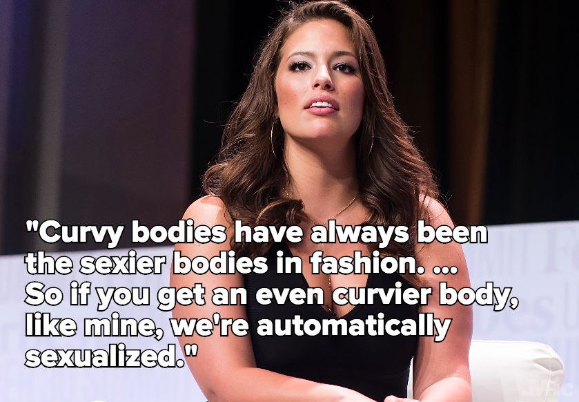 "One Model's Quote Nails the Problem With How We Treat ""Sexy"" Plus-Size Women"