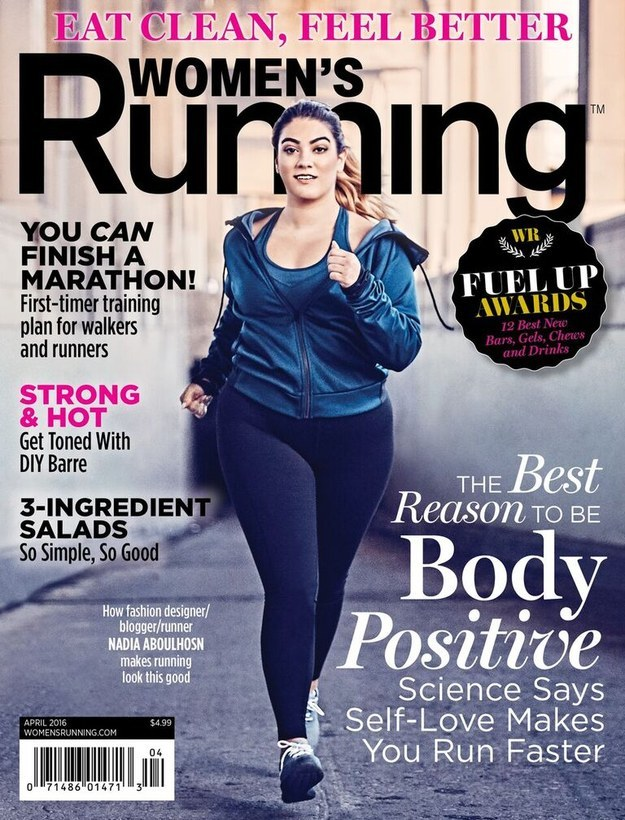 'Women's Running' Magazine Has a Full-Figured Model on the Cover – and She's Fit AF