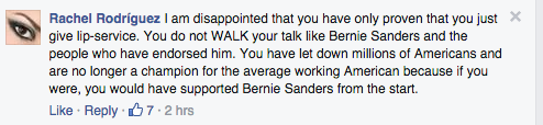 Some Bernie Sanders Fans Are Blaming Elizabeth Warren for His Losses Yesterday