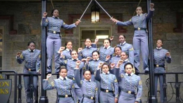 West Point Decides It's Not Punishing Female Cadets for Raised-Fist Salute