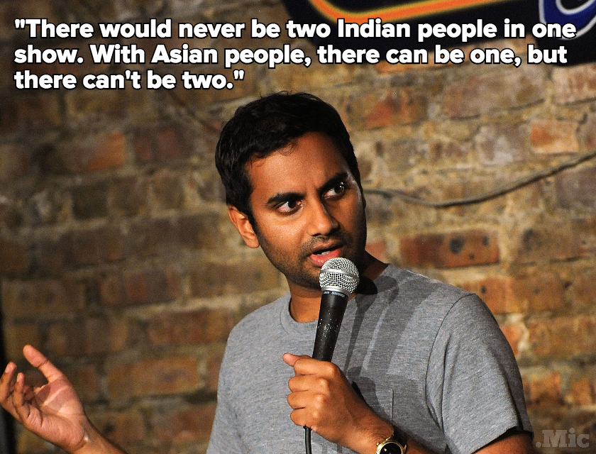 "Aziz Ansari Slams TV's Representation Problem: ""Every Other Show Is Still White People"""