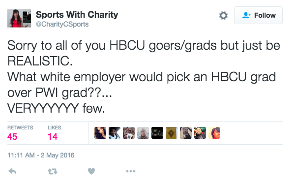 Is There Any Truth to This HBCU Vs. PWI Employment Debate?