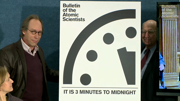 "Doomsday Clock 2016 Updated — Here's a Countdown to the ""End of Humanity"""