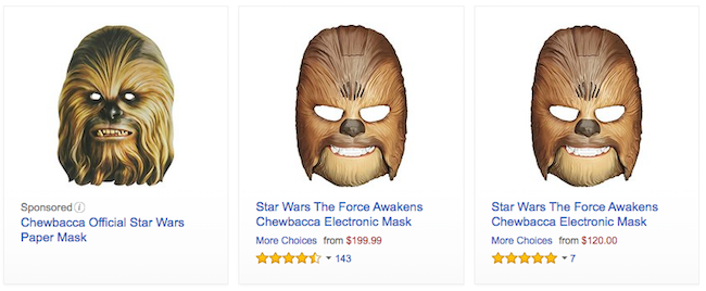 Chewbacca Mask Prices Soar on Amazon After Woman's Viral Video in Kohl's Parking Lot