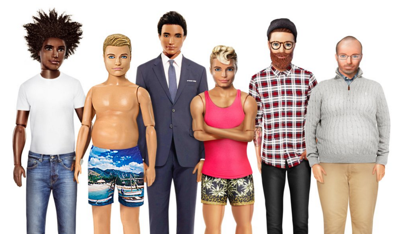 OK, Fine, Ken Can Get a Body-Postive Makeover Too