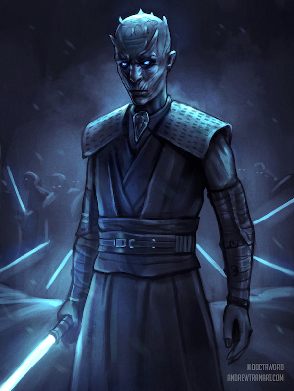 This 'Game of Thrones'/'Star Wars' Mashup Is Strong With the Force and the Lord of Light