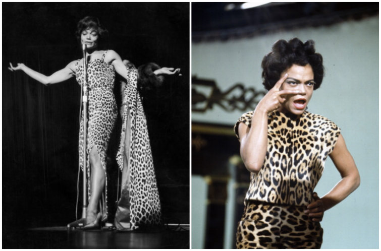 Unsung Style Icon: Eartha Kitt, Lover of Animal Prints and Turbans