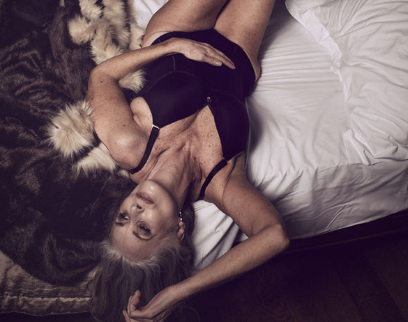 Nicola Griffin's Lingerie Shoot for 'Slink' Magazine Proves She's an Ageless Wonder