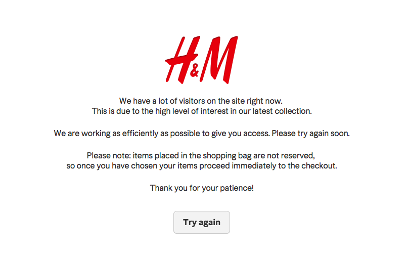 H&M Site Crashes, Stores Mobbed as Shoppers Go Batshit for Balmain Collection