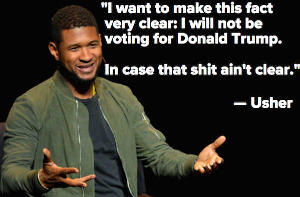Usher Is Stepping Up as an Activist by Launching a Scholarship and Not Voting for Trump