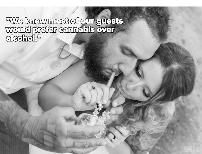 "Here's Why Couples Are Saying ""I Do"" to Weed Weddings"