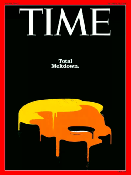 A brief history of the rollercoaster of emotions that are 'Time' magazine's Trump covers