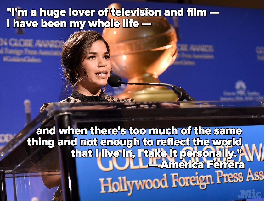 Eva Longoria and America Ferrera Used the Golden Globes to Make a Point About Latinas