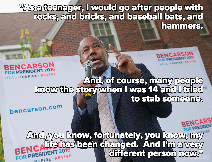 Ben Carson Brings Up Neurosurgery, Time He Tried to Kill Someone, in Response to Trump