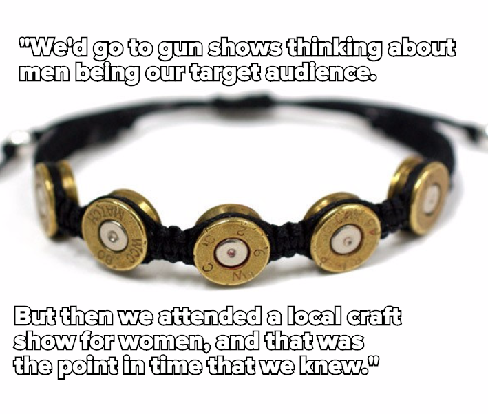 Meet the Female Gun Enthusiasts Turning Bullet Jewelry Into Big Business