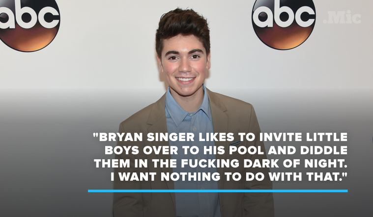Noah Galvin Drops a Bombshell Accusation Against Bryan Singer